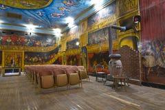 美丽的Amargosa歌剧院的观众席 免版税库存照片