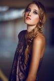 美丽的Blondie女孩 免版税图库摄影
