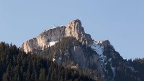 美丽的Bucegi山 库存照片