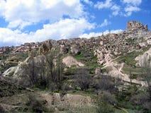 美丽的cappadocia 免版税库存照片