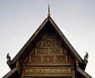 美丽的chiangrai门面 库存图片