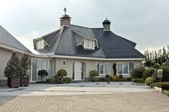 美丽的countryhouse荷兰 库存图片