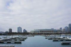 美丽的DuSable港口 库存图片