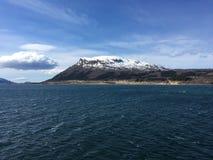 美丽的Helgeland海岸在诺尔兰县,挪威 图库摄影