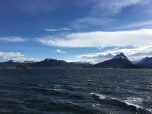 美丽的Helgeland海岸在诺尔兰县,挪威 免版税库存图片