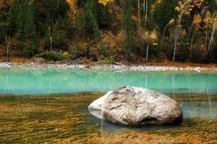 美丽的kanas河 免版税图库摄影