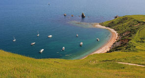 美丽的mupe海湾 免版税图库摄影