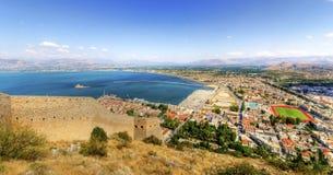 美丽的Nafplio,希腊 免版税库存照片