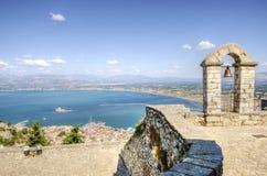 美丽的Nafplio,希腊 免版税库存图片