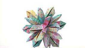 美丽的origami被仿造的花 皇族释放例证