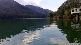 美丽的Pokhara湖 免版税库存照片