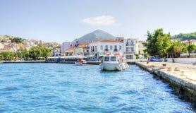 美丽的Pylos,希腊 免版税库存图片