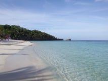 美丽的Roatan海滩 免版税库存图片