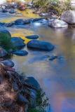 美丽的Sedona亚利桑那在一晴朗的秋天天 免版税库存照片