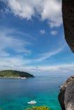 美丽的Similan海岛 库存图片