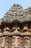 美丽的somnathpur寺庙 图库摄影
