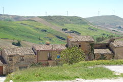 美丽的toscania 免版税库存照片