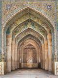 美丽的Vakil清真寺,设拉子,伊朗 库存图片