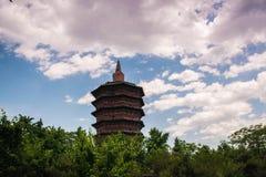 美丽的wenfeng塔 库存图片