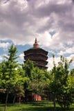 美丽的wenfeng塔 免版税库存图片