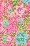 美丽艺术蜡染布样式 免版税库存照片