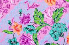 美丽艺术蜡染布样式 免版税库存图片