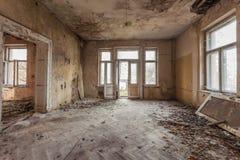 美丽,被忘记的和被毁坏的房子 免版税库存照片