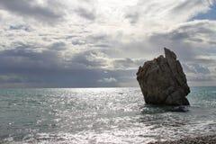 美之女神岩石 免版税库存照片
