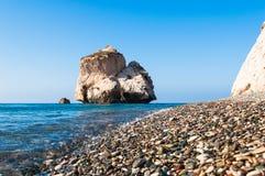 美之女神的岩石 免版税库存图片