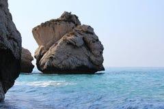 美之女神的岩石 库存照片