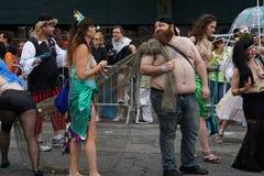 2015年美人鱼游行第5部分95 免版税库存照片