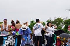 2015年美人鱼游行15 库存照片