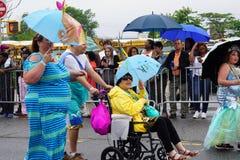 2015年美人鱼游行28 免版税图库摄影