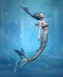 美人鱼 免版税图库摄影