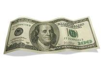 美元一百一个 免版税库存图片