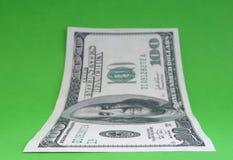 美元一百附注一 免版税库存图片