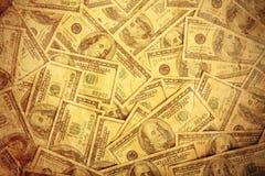 美元一百附注分散 免版税图库摄影