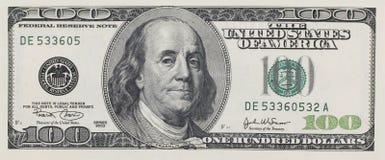 美元一百 免版税库存图片