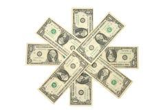 美元一 免版税图库摄影