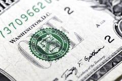 美元一 免版税库存图片