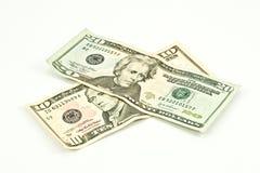 美元三十 免版税库存照片