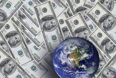 美元世界 库存图片