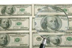 美元主题 免版税库存图片