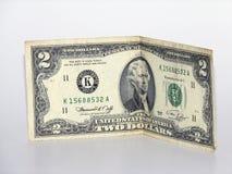 美元二 库存照片