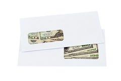 美元信包我们 图库摄影