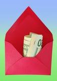 美元信包 免版税库存图片