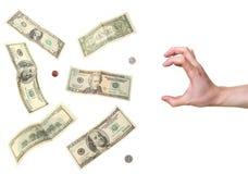 美元劫掠现有量 免版税图库摄影