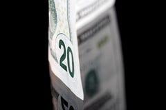 美元反映 免版税库存图片