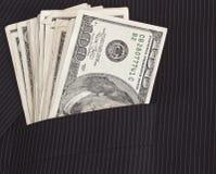 美元口袋诉讼 图库摄影