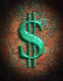 美元图象符号 免版税库存照片